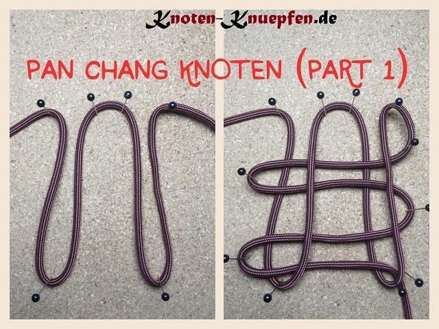Chinesischer Knoten / Glücksknoten: Pan Chang Knoten Anleitung Part 1