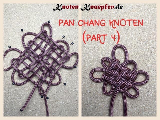 Chinesischer Knoten / Glücksknoten: Pan Chang Knoten Anleitung Part 4