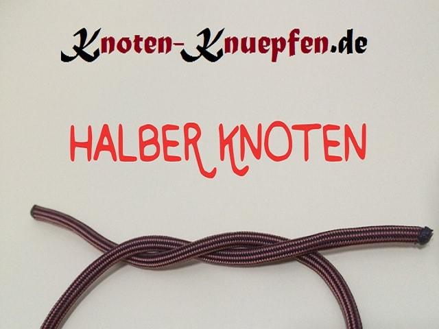 Halber Knoten