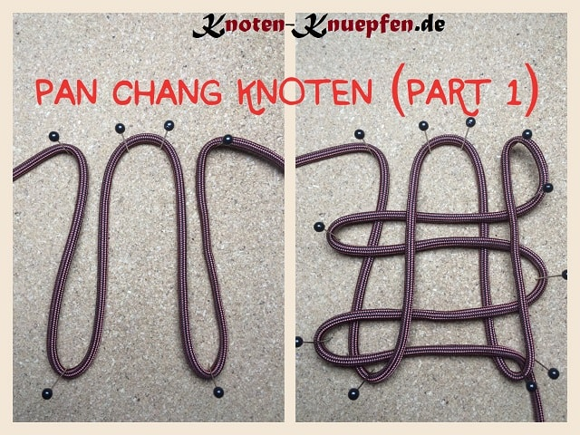 Pa Chang Knoten Glücksknoten